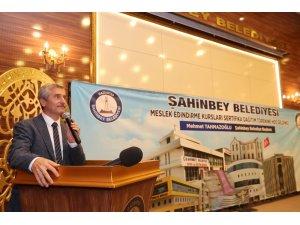 Şahinbey Belediyesi meslek edindirme kursları