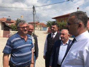 Ahlatcı'dan köy ziyaretleri