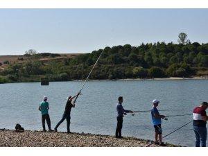 Hayrabolu'da balık tutma yarışması