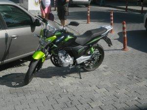 İki motosikletin karıştığı kazada bir sürücü yaralandı