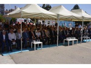 Safranbolu ve Eflani'de okullar için temel atma töreni yapıldı