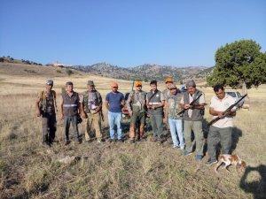 Burdur'da avcılara denetimler sürüyor