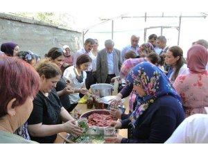 Doğanşehir'de kapya biber hasadı başladı