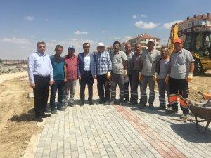 Karaman Belediyesinden yeni park yapımı