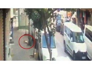 Zeytinburnu'nda dehşet anları kamerada