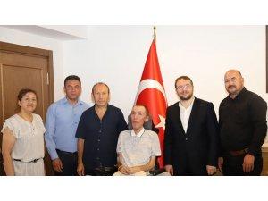 DMD yönetimi ve Çağlar Özyiğit'den TÜSEB'E ziyaret
