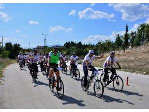 Bölge turizmini canlandıracak ilk 'Bisiklet Festivali' başladı
