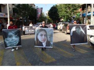 """Çocuk ve kadın istismarına tepki: """"Adalet İçin Sessiz Kalma"""""""