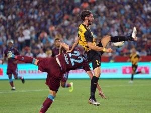 UEFA Avrupa Ligi: Trabzonspor: 0 - AEK: 2 (İlk yarı)