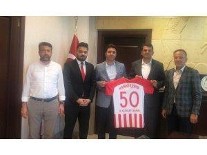 Nevşehir Belediyespor yöneticileri, Başsavcı Şahin'i ziyaret etti