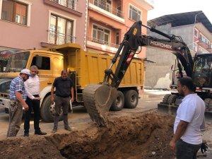 Simav Belediyesi'nden altyapı çalışması