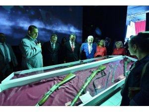 Taksim Meydanı'nda 30 Ağustos Dijital Gösteri Merkezi açıldı
