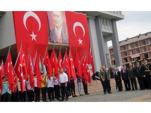 Giresun'da 30 Ağustos Zafer Bayramı düzenlenen törenle kutlandı