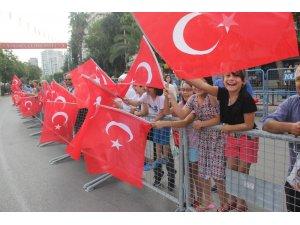 Adana'da 30 Ağustos Zafer Bayramı kutlandı