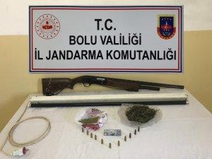 Bolu'da jandarma ekiplerinden uyuşturucu operasyonu
