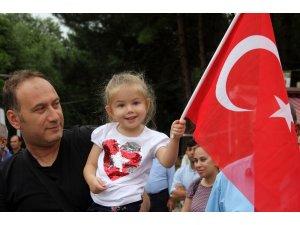 Erzincan'da 30 Ağustos Zafer Bayramı'nın 97. yılı kutlandı