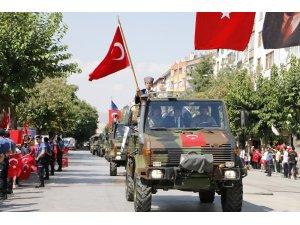 Konya'da 30 Ağustos Zafer Bayramı'nın 97. yılı kutlandı