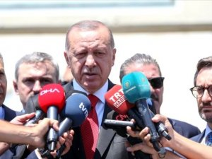 Erdoğan'dan yeni parti açıklaması: Bagajlarında ne varsa ortaya döksünler
