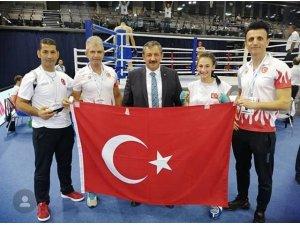 Sakaryalı Afra Adıyaman, Avrupa Şampiyonu oldu