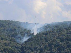 Anadolu Kavağı'nda yangın!
