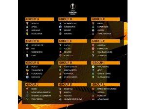 UEFA Avrupa Ligi'nde Türk takımlarının grupları belli oldu
