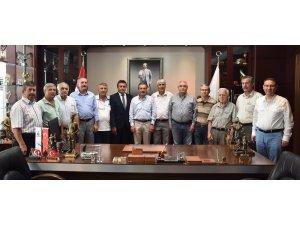 Muhacirlerden Ataç'a ziyaret