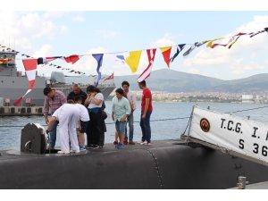 Gölcük Donanması gemileri 30 Ağustos ziyaretçilerine açıldı