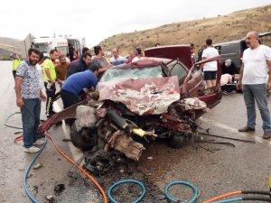 Malatya'da trafik kazası: 1 ölü, 7 yaralı