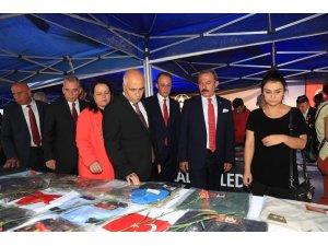 Pamukkale Belediyesi'nden 'Şehit ve Devlet Büyükleri Emanetleri' sergisi