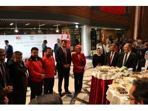 Vali Ayhan ve Başkan Bilgin'den Plevne Marşı