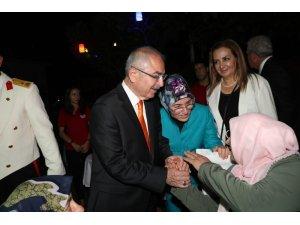 Mardin'de 30 Ağustos Zafer Bayramı resepsiyonu