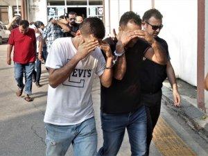 Mersin merkezli 9 ilde fuhuş operasyonu: 2'si kadın 13 kişi tutuklandı