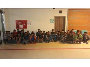 Edirne'de 29 kaçak göçmen yakalandı