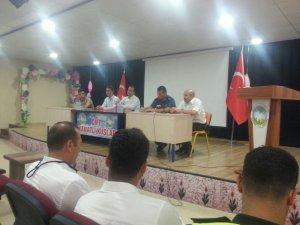 Erzin'de okullarda alınan güvenlik önlemleri