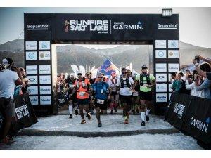 Tuz Gölü'nde maraton heyecanı