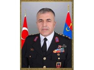 Giresun İl Jandarma Komutanı Murat Yakın Ankara'ya tayin oldu