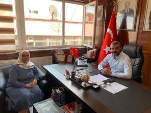Usta Öğreticiler Derneğinden Başkan Avşar'a ziyaret
