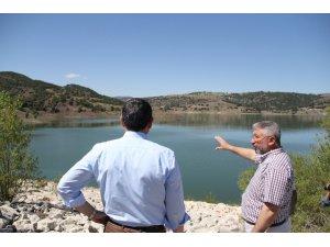 Vali Çiftçi ve Aşgın'dan Yenihayat Barajı'nda inceleme