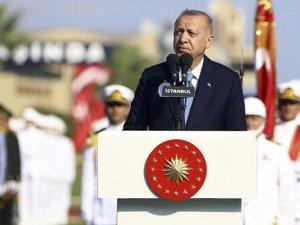 Cumhurbaşkanı Erdoğan uyardı: Fırat'ın Doğusunda iki üç hafta içinde kendi şartlarımızla, kendi askerlerimizle bölgeyi oluşturmaya başlamazsak varsın gerisini karşımızdakiler düşünsün