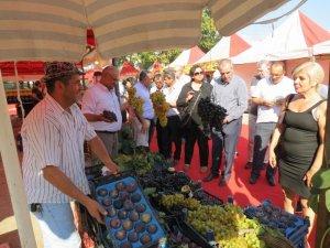 Mudanya'da yöresel ürünler sergiye çıktı