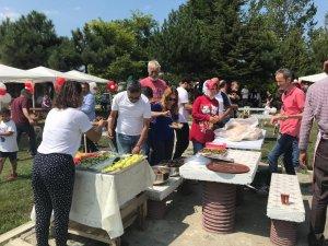 Bolu'da, gazeteciler ve aileleri piknikte biraraya geldi