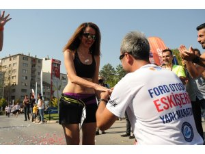 Ford Otosan Eskişehir Yarı Maratonu'nda renkli anlar yaşandı