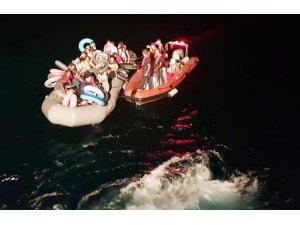 Datça'da 35 göçmen yakalandı