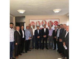 İlçe Başkanlarından Avşar'a destek açıklaması