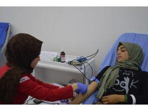 Kan bağışında duyarlı il Ağrı