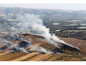 İsrail ordusu, Lübnan'a topçu saldırısı düzenledi