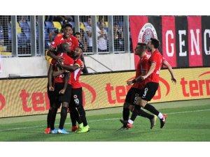 Süper Lig: Gençlerbirliği: 1 - Medipol Başakşehir: 0 (İlk yarı)