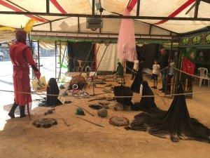 """Iğdır'da """"Kerbela'dan bir esinti"""" çadırı"""