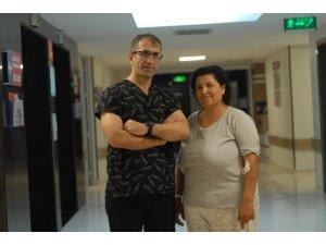 Kilolarından çektiği çile Hatem Hastanesi'nde bitecek