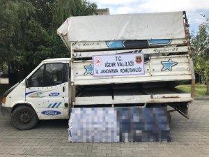 Iğdır'da 4 bin 900 paket kaçak sigara ele geçirildi